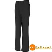 【速捷戶外】Wildland荒野 W2309-54 女Softshell保暖長褲(黑) ,雪褲, 保暖褲