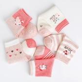 女童襪子秋冬季純棉