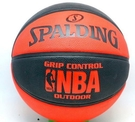 SPALDING  藍球  NBA RUBBERe 七號  室外 橘 黑 【運動世界】SPA83081