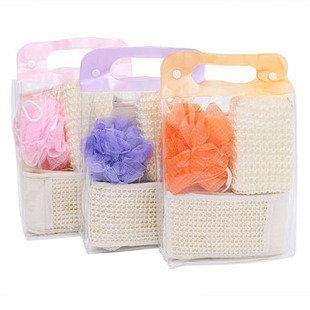 沐浴手套 4件套