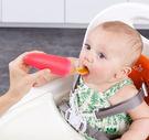 美國 Boon SQUIRT擠壓式餵食湯匙  嬰兒副食品餵食湯匙89ml (橘)