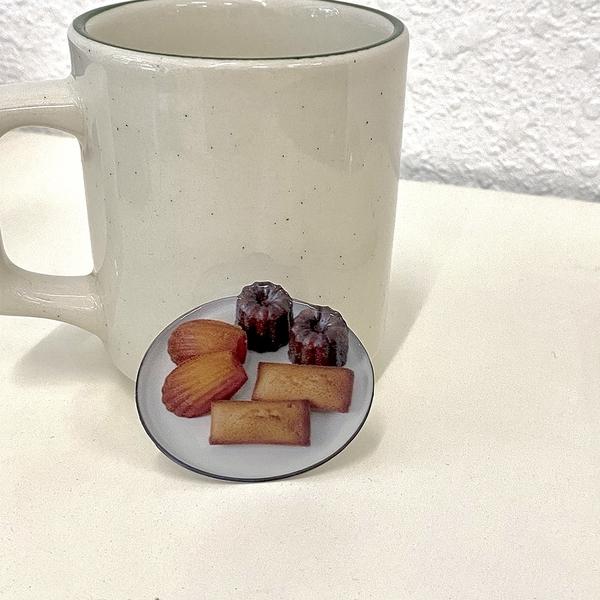 韓國ins原創氣囊伸縮手機支架便攜可露麗甜點下午茶可愛小眾