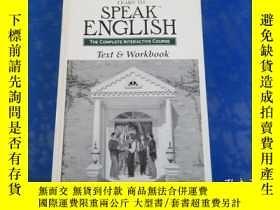 二手書博民逛書店learn罕見to speak english the complete interactive course 學