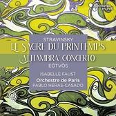 【停看聽音響唱片】【CD】史特拉文斯基:春之祭 / 艾特沃許:小提琴協奏曲
