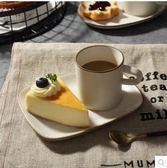 米立風物 日式萬古燒杯子 陶瓷咖啡杯 早餐杯奶杯【A高杯配方碟咖啡杯碟一組】