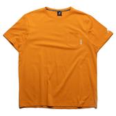 KANGOL 短袖 短T 黃 左胸口袋 英文小標 棉 休閒 男 (布魯克林) 6021102562