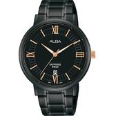 ALBA 雅柏 簡約羅馬字紳士腕錶 VJ42-X304SD AS9L19X1