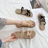 2019新款網紅ins潮涼拖鞋女夏季外穿時尚百搭學生平底沙灘可濕水優品匯
