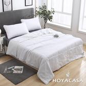 【HOYACASA 】和風日常 雙人可水洗四季柔絲被(6x7尺)