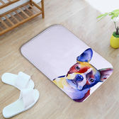 可愛狗狗地墊卡通寵物進門門墊客廳地毯