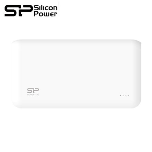 【Silicon Power 廣穎】5,000mAh S50 行動電源(白)
