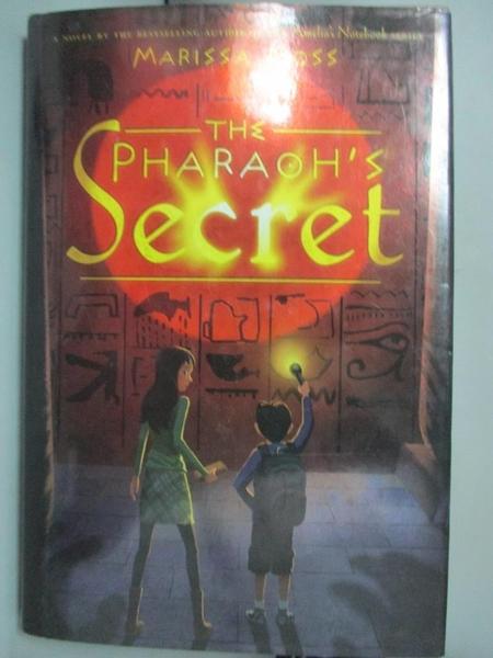 【書寶二手書T7/原文小說_BTR】The Pharaoh's Secret_Moss, Marissa