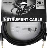 凱傑樂器 DADDARIO American Stage 20ft Cable 導線