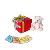 【Diva Life】前世今生禮物熊禮盒 8入 雙包裝(比利時純巧克力)