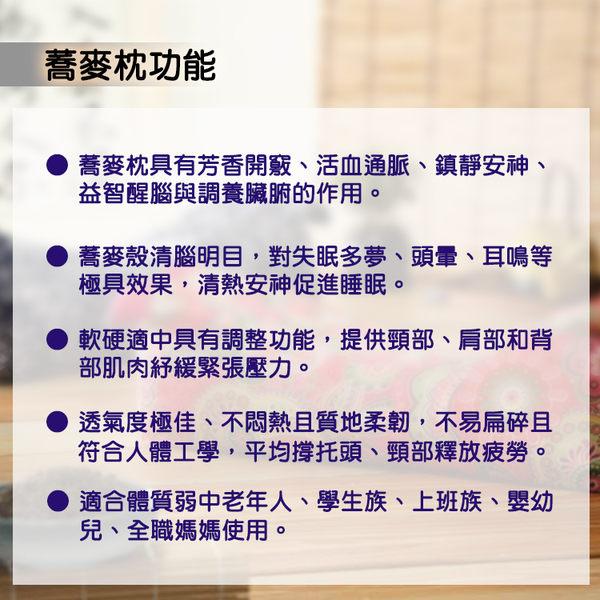 【佳工坊】天然透氣舒眠釋壓虎型蕎麥枕1入組(顏色隨機)
