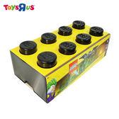 玩具反斗城  LEGO樂高 收納盒 黑色