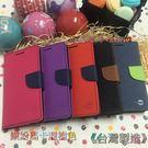 HTC New One M7 801e《台灣製造 雙色繽紛馬卡龍側掀翻皮套》手機套書本套手機殼保護殼保護套