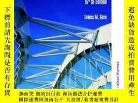 二手書博民逛書店Mechanics罕見Of Materials - 5th Si Ed No Us Rights-材料力學-第5版