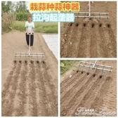 大蒜種蒜播種神器開溝起壟器家用種植栽蒜機械小型農業種菜播種機 HM 范思蓮恩
