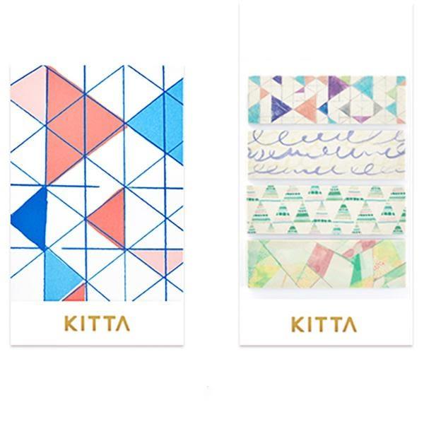 日本 KITTA 攜帶型和紙膠帶/Basic系列-虛幻世界