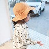 婴儿帽 嬰兒女童寶寶漁夫帽春夏防曬太陽帽簡約多色帽子 城市科技