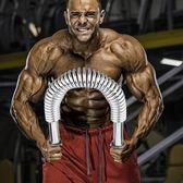 全館免運八九折促銷-臂力器50公斤30kg臂力健身器材家用握力棒胸肌擴胸器男臂力棒40kg握力棒