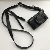 相機肩帶微單M50M100理光GR3掛繩索尼RX100M6M5窄款柔軟背帶 電購3C