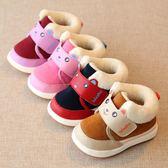 冬季兒童加厚二棉鞋男童女童寶寶加絨保暖軟底鞋子嬰兒冬鞋學步鞋