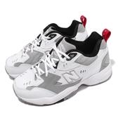New Balance 慢跑鞋 608 NB IU 李知恩 白 灰 韓系 運動鞋 老爹鞋 女鞋【PUMP306】 WX608RG1D