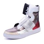 春夏季時尚潮流男鞋子韓版高筒個性板鞋馬丁鞋青年非主流運動休閒鞋