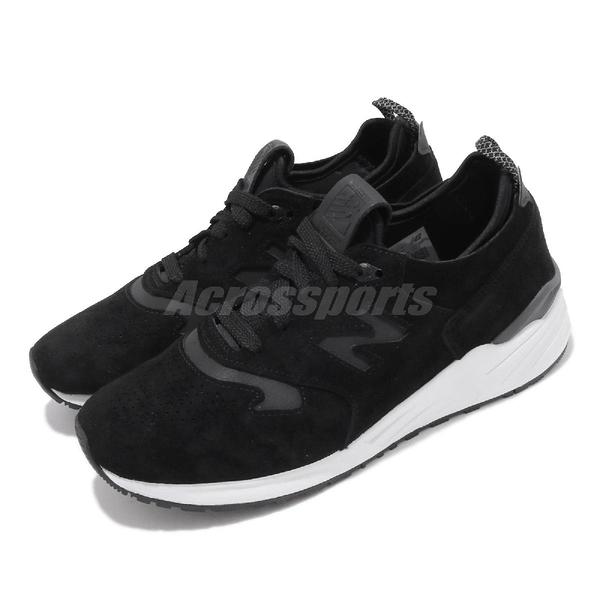 【五折特賣】 New Balance 休閒鞋 NB 999R 黑 白 男鞋 女鞋 美製 運動鞋 【PUMP306】 M999RTFD