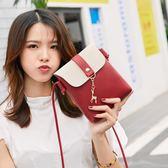 韓版時尚潮女包簡約單肩斜背迷你小挎包    琉璃美衣