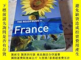 二手書博民逛書店《THE罕見ROUGH GUIDE to France 》新e架