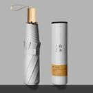韓版全自動折疊雨傘晴雨兩用太陽傘遮陽防曬防紫外線女學生ins風 【快速出貨】