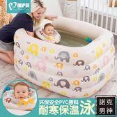 嬰兒游泳池保溫充氣嬰幼兒童寶寶游泳池戲水池新生兒浴盆 全館免運