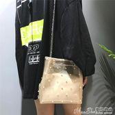 子母包夏天小包包女2018新款韓版簡約珍珠側背子母包時尚 曼莎時尚