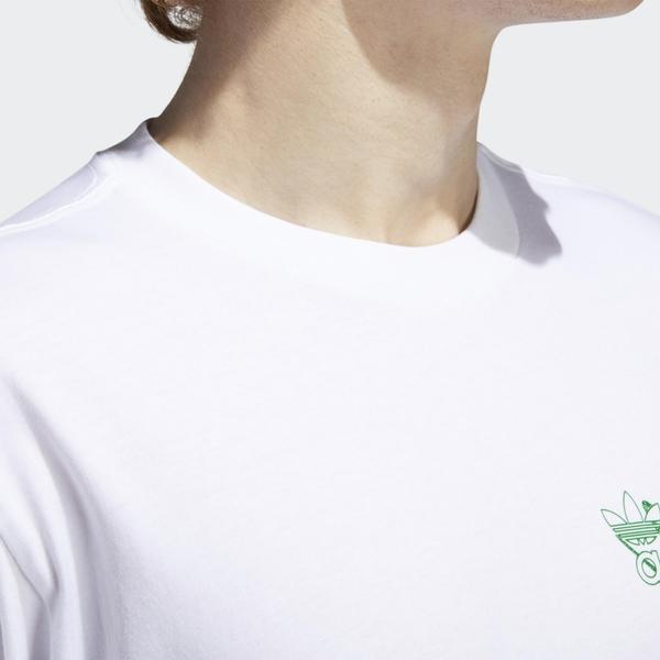 Adidas Originals BRUSH STROKE 2 男裝 短袖 休閒 塗鴉 三葉草 棉質 白【運動世界】GD2109