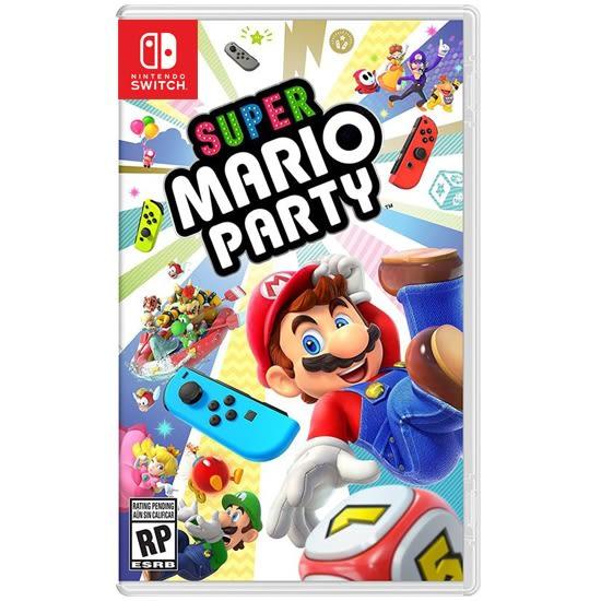[哈GAME族]免運費●搭贈骰子鑰匙圈●NS 超級瑪利歐派對 中文版 Mario Party 80種小遊戲 多人同遊首選