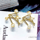 《Caroline》純淨,清爽,獨特流行時尚耳環72011
