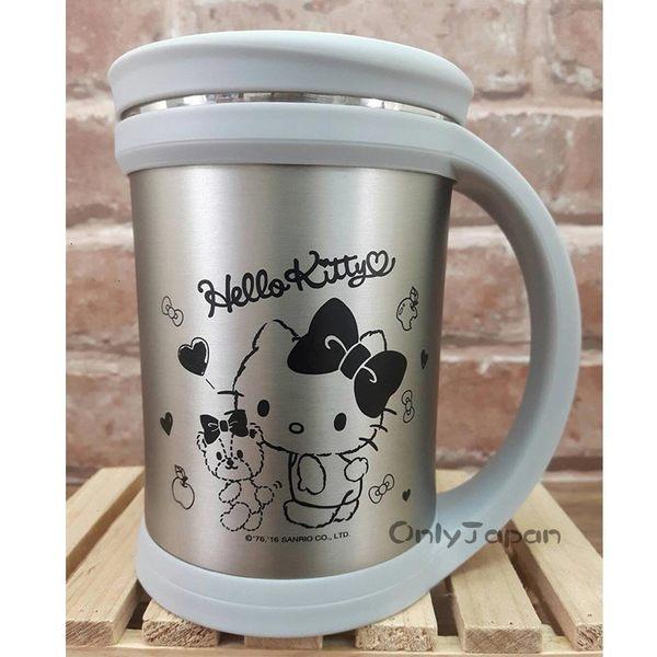 【卡漫共和國】18022200013 真空保溫保冷杯-KT小熊銀 三麗鷗kitty凱蒂貓 水杯 杯子 保溫杯 保冷杯