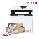 RICOH SP C261SFNw A4彩色雷射多功能事務機 搭三支SP-C250S黑原廠碳粉匣