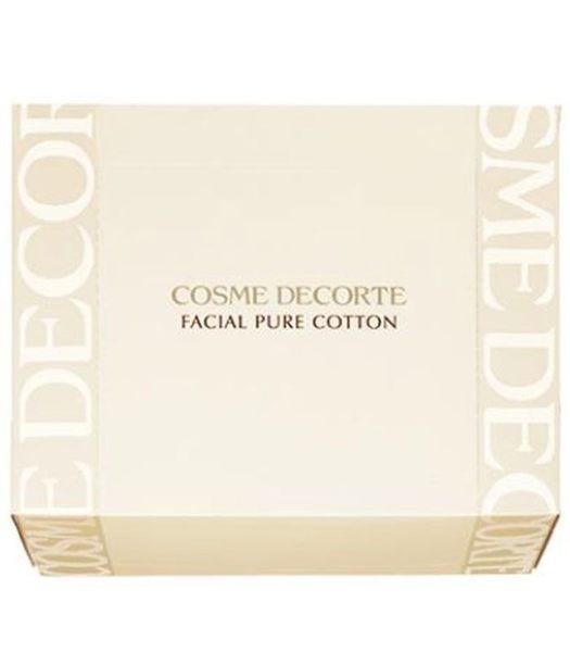 COSME DECORTE 高級純柔化妝棉N 100枚 Facial Pure Cotton N 100Sheets