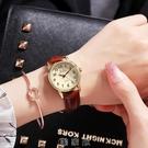 2020新款韓版簡約氣質ins風女學生時尚防水夜光情侶手錶一對男錶 [現貨快出]