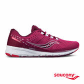 SAUCONY BREAKTHRU 3 專業訓練鞋款-莓果紅
