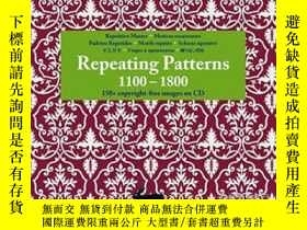 二手書博民逛書店Repeating罕見Patterns 1100 - 1800(+ Cd-rom)Y255562 Pepin