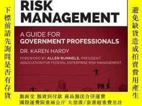 二手書博民逛書店Enterprise罕見Risk Management: A Guide for Government Profe