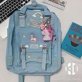 雙肩包獨角獸校園女大學生書包旅行包【Kacey Devlin】