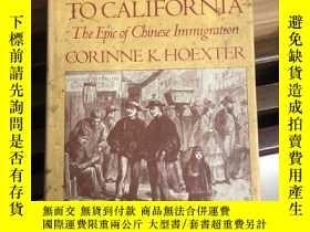 二手書博民逛書店FORM罕見CANTON TO CALIFORNIAY18551