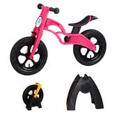 【虎兒寶】兒童平衡滑步車組合 -AIR 充氣胎 +置車架(桃)【屈臣氏】