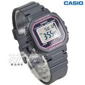 CASIO卡西歐 LA-20WH-8A 復古風百搭方形電子錶 女錶 兒童錶 防水手錶 LED照明 灰 LA-20WH-8ADF